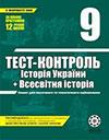 Tест-контроль Історія України, Всесвітня історія 9 клас